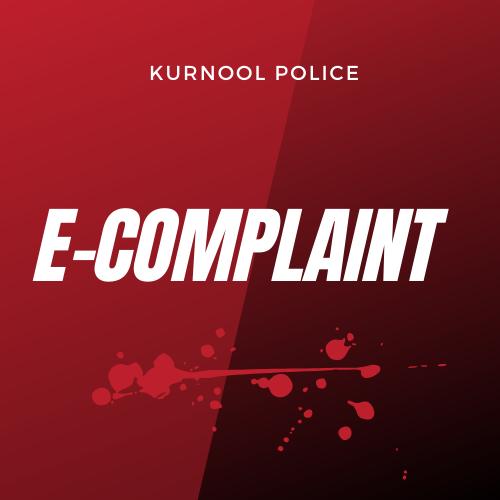 kurnool police e complaint